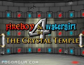Fogo E Agua 4 No Templo De Cristal Em Tela Cheia